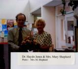 Dr Hayden Jones & Mrs Mary Shepherd