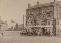 Nurses' Residence, later the Marlborough Hotel....