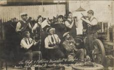 Rhyl and Potteries Minstrel Troupe 1913