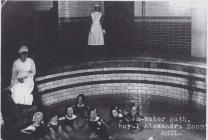 Salt water bath, Royal Alexandra Hospital, Rhyl