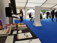 Peoples Collection Wales stand at the Lle Hanes...