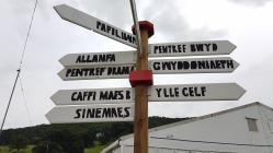 Llanrwst Eisteddfod Direction Signs, 2019
