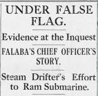 UNDER FALSE FLAG (1915)