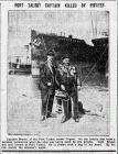PORT TALBOT CAPTAIN KILLED BY PIRATES (1915)