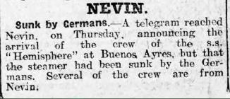 Sunk by Germans (1915)