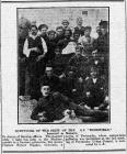 """SURVIVORS OF THE CREW OF THE S.S. """"..."""