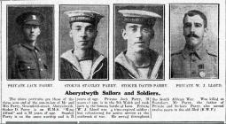 Aberystwyth Sailors and Soldiers (1916)