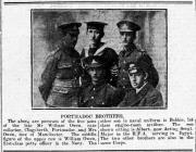 PORTMADOC BROTHERS (1918)