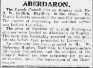 ABERDARON (1917)