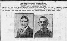 Aberystwyth Soldiers (1918)
