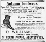 Advertisement for Shoes (1916)