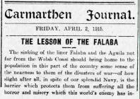 THE LESSON OF THE FALABA (1915)