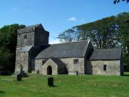 St. Brynach's church, Llanfrynach.