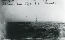 Sinking of the BARRON HERRIES (1918)
