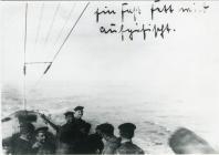 U 91 yn achub marjarîn (1918)
