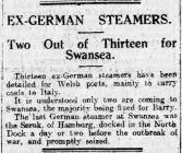 EX-GERMAN STEAMERS (1919)