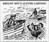 BRECON BOY'S CLEVER CARTOON (1916)