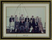 Llantwit Major Town Council 1989 - 90