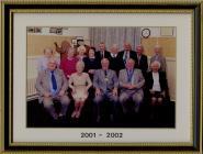 Llantwit Major Town Council 2001 - 02