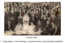 Cowbridge Town Hall dance 1936