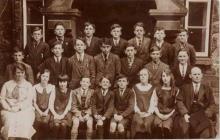 Llanrwst County School, 1920s