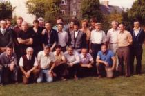 Welsh and Scots quoiting teams