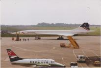 Concorde yng Nghaerdydd 1990au
