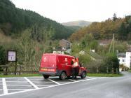 Postman Hugh Davies 2009