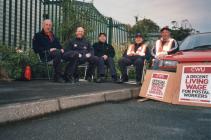 Postmen strike 2007