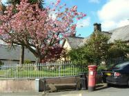 Queen Victoria Royal Mail Pillar box at...