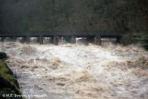 Flooding of the River Neath in the 80`s