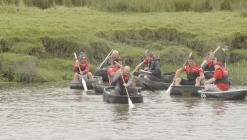Coracles, River Festival, Carmarthern 2019