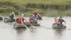 Coracle Races, River Festival, Carmarthern 2019
