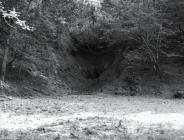 Entrance to Rhiwgreiddyn quarry