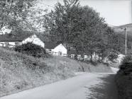 Entrance to the Forestry Commission camp