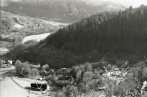 View of Ceinws / Esgairgeiliog from the mountain
