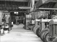 Rhiwgreiddyn mill complex. Ceinws/ Esgairgeiliog