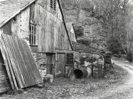 Rhiwgreiddyn slate quarry mill complex