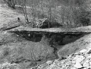 Rhiwgreiddyn slate quarry