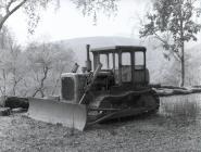 Vintage bulldozer
