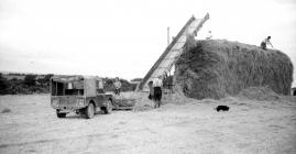 24 Building a hay stack, St. Clears