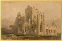 Dumfrieshire Abbey' by David Roberts