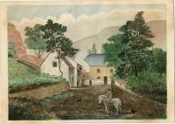 Garth Farm (?) by Thomas Prytherch
