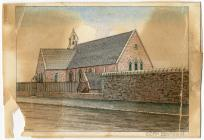 St. Mair's Church, Dowlais by Thomas Prytherch