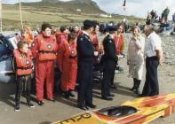 Duchess of Gloucester visit to Pembroke Marine...