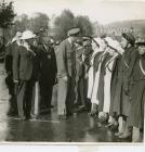 Duke of Kent inspecting Volunteers 1940