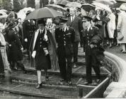 HRH Duchess of Kent at Duffryn Gardens 1965