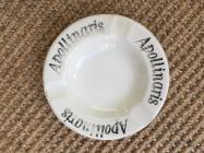 Ashtray from Apollinaris