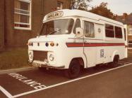 Monmouth Division Ambulance 1975