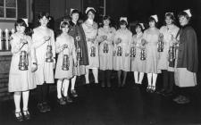 Senior nursing cadets annual carol service 1970s